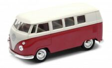 1963 Volkswagen VW T1 BUS - Welly Diecast Replica Pull Back Car 1:36 Scale