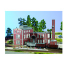 PIKO HO SCALE 1/87 SCHULTHEISS BREWERY BUILDING KIT   61149