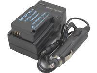 new DMW-BLC12 Battery and Charger for DMC-G5 G6 G6K GH2 GH2H GH2S GH2KS GH2KGK