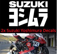 Suzuki GSXR 600 750 1000 Fairing Decals Motorcycle Honda Yamaha KTM