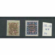 Nederland 132-133 Opruimingsuitgifte MNH/postfris  CV 310 €