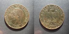 Napoléon III - 5 centimes tête nue 1855 ancre A, Paris - F.116/17