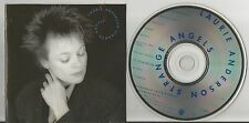 Laurie Anderson  - Strange Angels US CD WB 10 Trax Chris Spedding Bobby McFerrin