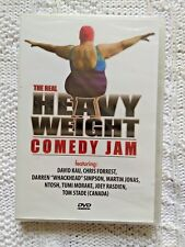 THE REAL HEAVYWEIGHT COMEDY JAM – DVD, R-ALL, LIKE NEW, FREE POST IN AUSTRALIA