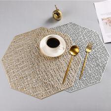 1Pc Non Slip Table Placemat PVC Plastic Coaster Insulation Pads Mats Home Decor