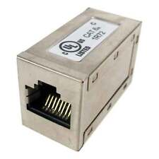 Cat6a cat6 a RJ45 Jack to Jack Coupler Shielded Inline F to F female to female