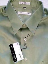 GEOFFREY BEENE MEN'S LS SATEEN COTTON/POLYESTER DRESS SHIRT-XXL-NWT-$49.50-NICE
