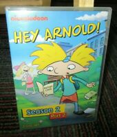 NICKELODEON - HEY ARNOLD! SEASON 2 PART 2, 2-DISC ANIMATED DVD SET, 10 EPISODES