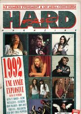 1992 UNE ANNEE EXPLOSIVE  - HARD FORCE  MAGAZINE  n° 7