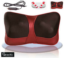 Car Home Pillow Lumbar Neck Full body Massage Cushion Shiatsu Massager Remote