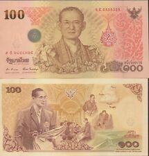 Thailand 100 Baht  2011  P 124  Series 9 K  Uncirculated Banknote