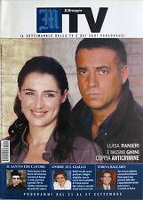MTV 38 2004 Luisa Ranieri Massimo Ghini Flavio Insinna Franca Leosini Vic MacKey