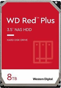 WD Red Plus 8TB Internal SATA NAS Hard Drive for Desktops
