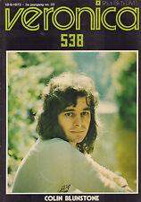 VERONICA 1973 nr. 33  - COLIN BLUNSTONE / ANTILOPE / SHARIF DEAN / STEVE WINWOOD