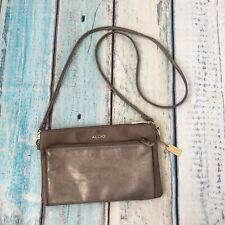 Aldo Gray Crossbody Shoulder bag Purse Handbag
