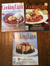 3 Cooking Light Magazines 2007 April July Oct  Eat Smart Be Fit Live Well