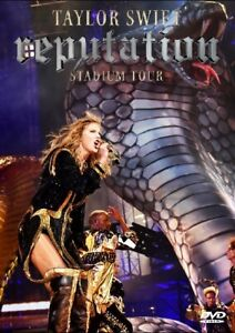 Taylor  Swift  /Reputation Stadium Tour Full Live 2018 DVD