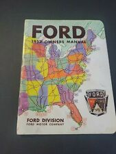 Vintage 1952 Ford Owners Manual
