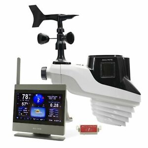 NEW AcuRite 01004M Atlas Weather Station Lightning Detection White - FAST SHIP