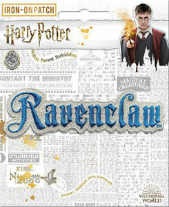 Harry Potter Iron On Patch: Ravenclaw Brand New!