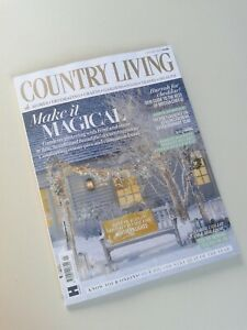 NEW JANUARY 2021 ISSUE COUNTRY LIVING MAGAZINE