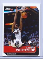 """HASSAN WHITESIDE 2017 SPORTS ILLUSTRATED """"1ST EVER PRINTED"""" BASKETBALL CARD #616"""