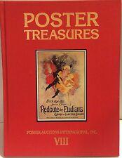 Poster Treasures Auction Catalog 1989 PAI-VIII Redoute Etudiants Cheret Rennert