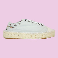 DIESEL Expodrillas LC Womens Espadrille Casual Shoe Ice Flow Size 9 New