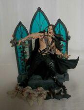 Ozzy Osbourne McFarlane 1999 figurine with church window diorama and birds/bats
