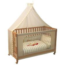 Cuna nueva para COLECHO, con colchón, ropa de cama y ruedas - Beich Moon