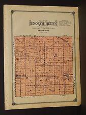 Minnesota Redwood County Map North Hero Township 1914 W3#51
