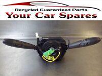 Fiat Punto Indicator Headlight Wiper Stalk & Squib 03-10 Mk2