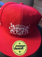 GRAND MARNIER LIQUEUR  RED CAP with WHITE EMBROIDERY SNAP BACK