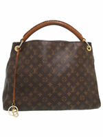 Louis Vuitton M40249 Monogram Artsy MM Shoulder Tote Bag Used