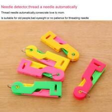 6/10X Automatic Needle Threader Thread Guide Elderly Device Sewing Tool Use N9O7