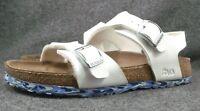 Birki's  Milano  Sandals Womens Size 8 White