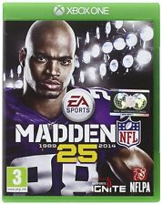 Madden NFL 25 For XBOX One (New & Sealed)
