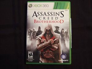 Replacement Case (NO GAME) ASSASSIN'S CREED BROTHERHOOD  XBOX 360