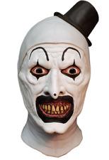 """Terrifier"" ""Art The Clown"" Mask Full Head Latex Halloween Horror Mask"