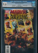 CGC 9.6 DYNAMITE-MARVEL ZOMBIES vs ARMY DARKNESS MINT GRADED COMIC BOOK #1 5/07