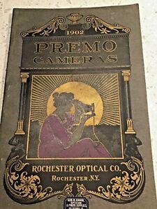 Vintage 1902 Premo Camera Catalogue brochure NICE rare