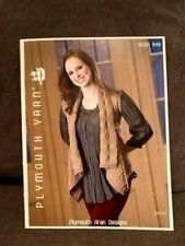 Easy Knit Cotton Kisses Wrap Sweater Plymouth Knitting Pattern CK09