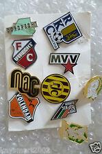 Cimeli di calcio-vintage smalto pin badge 10 PZ