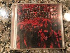 Black Sabbath Greatest Hits 1970-1978 Cd! (See) Iron Maiden Deep Purple & Kiss