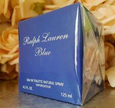 ❤️RALPH LAUREN BLUE  EAU DE TOILETTE 4.2 oz.125 ml.sealed!☆☆☆☆☆