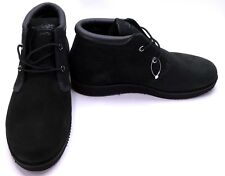 Timberland Shoes Newmarket Mid Chukka Suede Black Boots Size 7.5