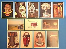 Set of 12 NEW Postcards SCULPTURES Mental Health Therapy Picture Resource Cards