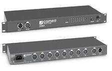 Cameo SB8.3 - 8-Kanal DMX Splitter / Booster (3-Pol) DMX Verteiler 3pol. XLR
