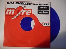 "KIM ENGLISH : TIME FOR LOVE (MORALES CLUB MIX 8'09) VINYLE COULEUR ► Maxi 12"" ◄"