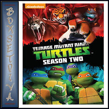 TEENAGE MUTANT NINJA TURTLES - COMPLETE SEASON 2 **BRAND NEW DVD ***